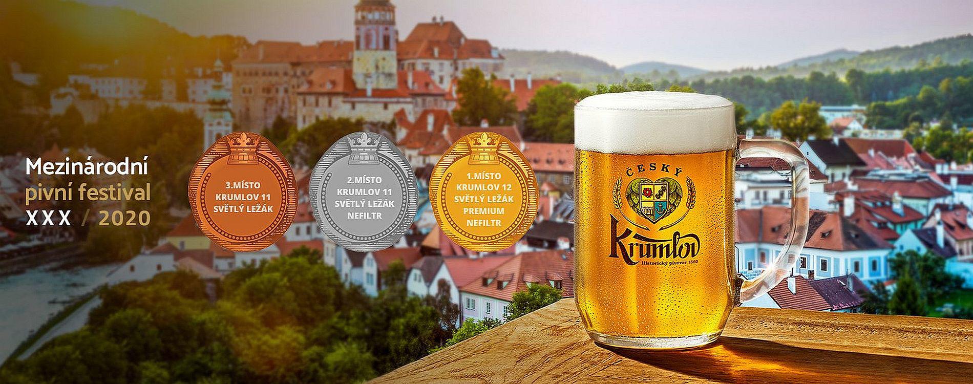 Ocenění piv Historického pivovaru v roce 2020